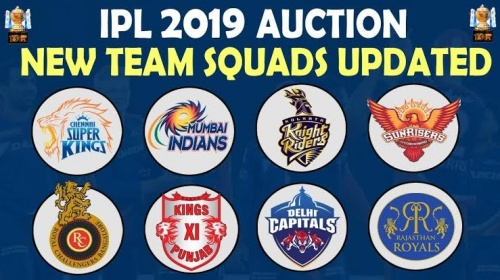 IPL 2020: Full list of all eight updated squads after auction