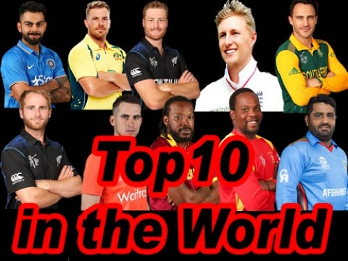 Bio of top 10 famous international cricketers