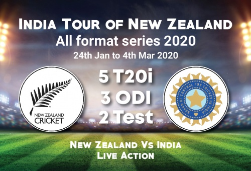 India tour of New Zealand 2020