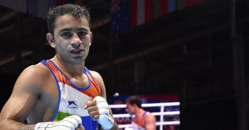 Amit Panghal is World No.1 in IOC's Boxing Task Force rankings for Olympic Qualifiers