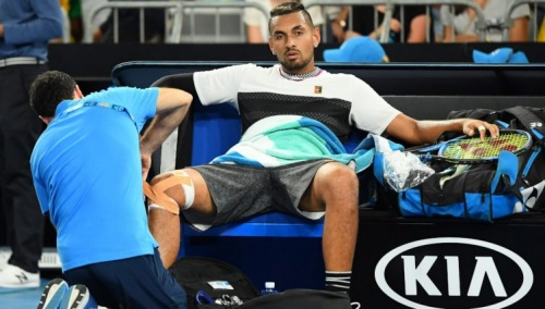 Tennis news atp nick kyrgios injury woes continue at delray beach open 2020
