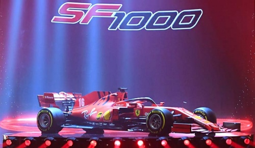 Ferrari Unveil SF1000 Car For 2020 Formula One Season