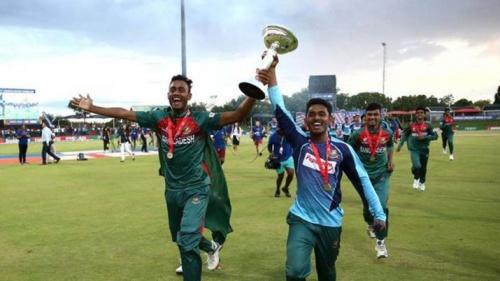 Bangladesh creates history; beats India under D/L to win ICC U19 WC title