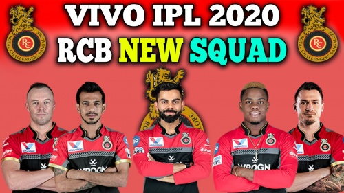 Royal Challengers Bangalore squad for IPL 2020
