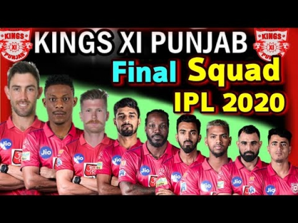 Kings XI Punjab IPL 2020