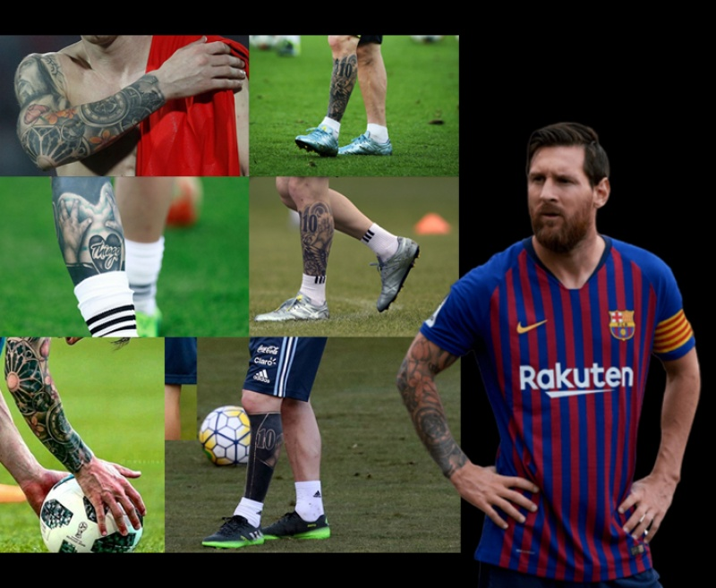 Check out Lionel Messi's Tattoos and their significance in his life