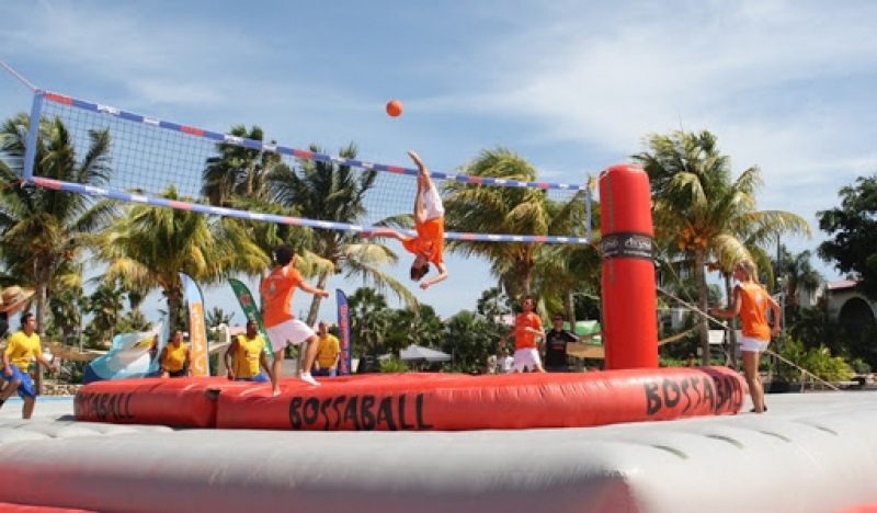 Bossaball: An exciting blend of volleyball, football, and gymnastics
