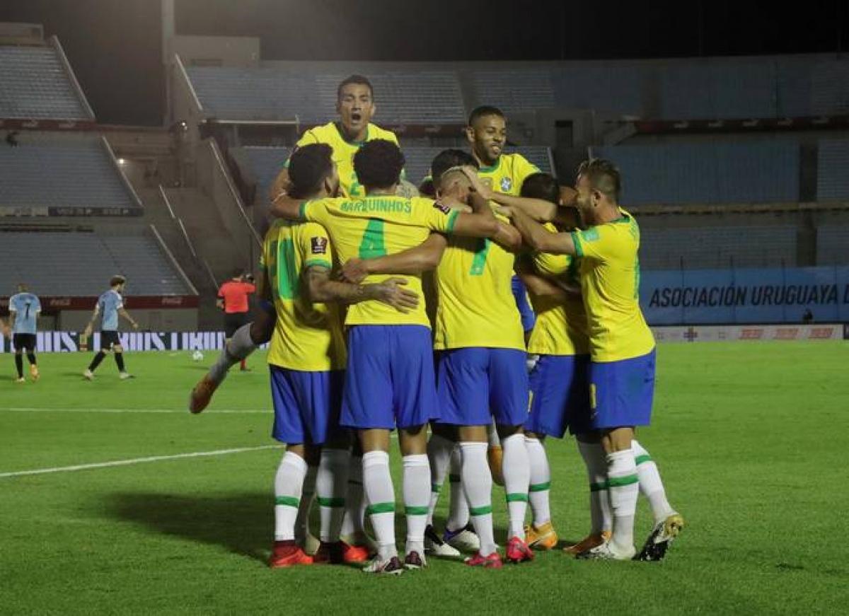 Brazil Beats Uruguay