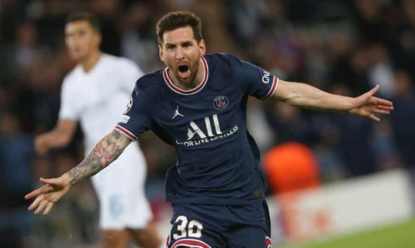 Champions League: Messi stars in PSG win over Manchester City, Liverpool see off Porto, Sheriff shock Madrid
