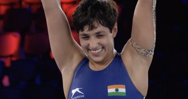 Anshu Malik becomes first Indian woman to reach wrestling World Championships final
