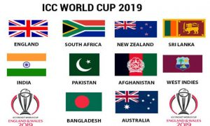 ICC Cricket World Cup 2019 All Qualified Teams