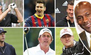 Top 20 richest sportsman in the world!
