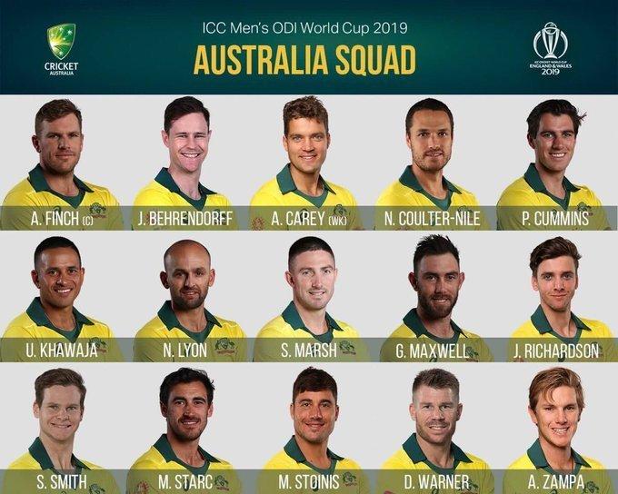Australia-Squad-for-WC-2019