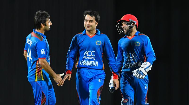 Afghanistan team jersey