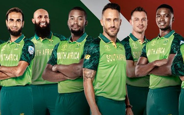 South-Africa jerrsy for wc 2019