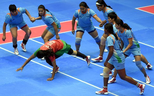 International Women Circle Kabaddi