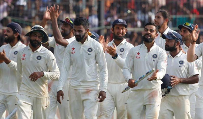 India Test Squad